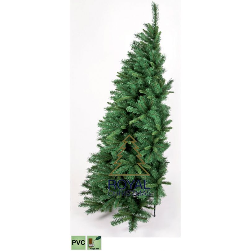 Demi Sapin De Noel Demi / Moitié Sapin de Noël Artificiel Dakota PVC 210 cm   Moitié